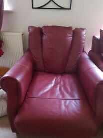 Leather armchair Free local delivery