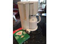 Rowenta electric coffee machine with thermal jug