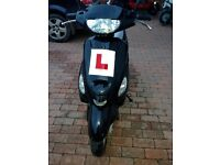 Pulse Scout 50cc 15 plate ideal first bike, 1 previous owner from new