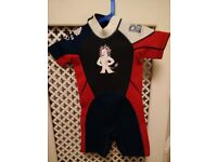 Child's wetsuit (age 5-6 years)