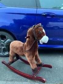 ride on toy horse plush