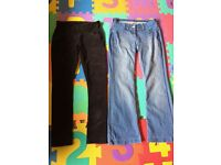 Maternity trousers and a skirt size 10
