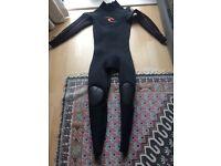 Rip Curl EBomb 4.3 surf wetsuit size M