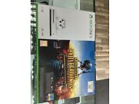 Xbox One S 1TB 4K Blue Ray Brand New With battlegrounds