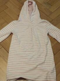 White company swimming/beach robe aged 7-8
