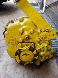Marine hydraulic gearbox