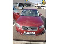 Audi a3. 6gears. Cheap on tax and fuel