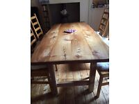 Beautiful commissioned Dining Table