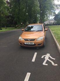 2004 Vauxhall Corsa Design 1199cc 16v 3 door petrol