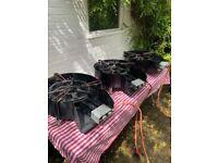 3 Paella Pans + Ring Burners STREET FOOD