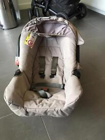 Push chair and car seat