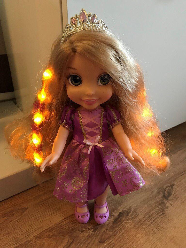 Disney Princess Hair Glow Rapunzel Toddler Doll