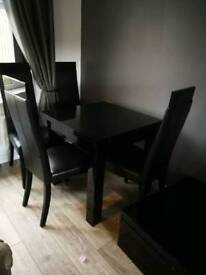 Table and chairs & more