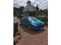 Peugeot 307 CC (Coupe Cabriolet) one years MOT, four brand new tyres, Metallic paint, Stunning Car