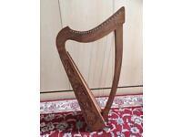 Beautiful traditional folk harp