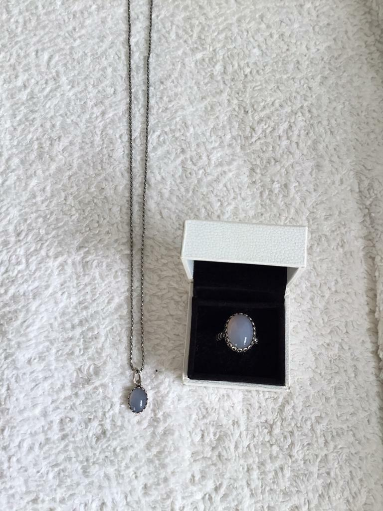 Pandora Ring and Necklace