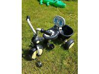 Kids childrens 3 wheel pedal buggy trike