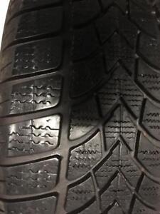 1 pneu 225/45/17 Dunlop hiver runflat 8-9/32