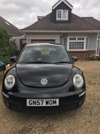 VW Black Beetle for sale - low mileage - £2,450