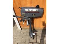 SUZUKI 2HP SHORT SHAFT OUTBOARD MOTOR