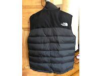 New with tags Black North face body warmer/gillet £50