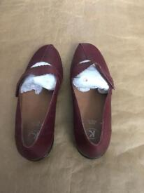 New ladies shoes extra wide fit by k. Size 6