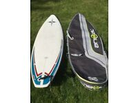 "6'7"" Bic Surfboard, leash and bag"