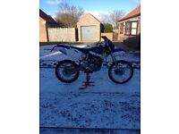 Yzf 250 MOT till end of April