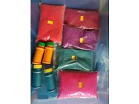 Colours for textile art, can be used for Batik, Tie dyeing,woodblock printing projects