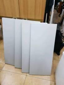 Office metal cupboard shelves L91cm W39cm