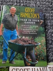3 Geoff Hamilton's gardening books