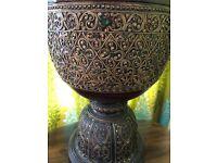 Indian glass embellished decorative ornament