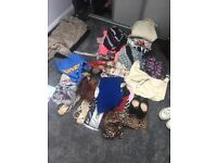 Job lot of clothing and accessories