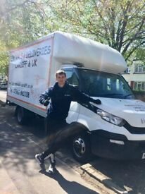 removals deliveries man and a van