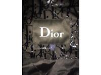 Dior puffer coat