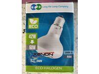 E27 eco halogen light bulbs