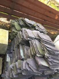 Two pallets of slates