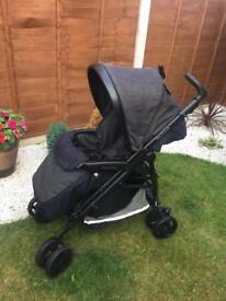 Mamas and papas pilko promette stroller pushchair