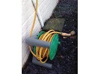 Hose lock garden hose reel approx 25m