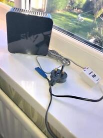 Sky WiFi box and wires