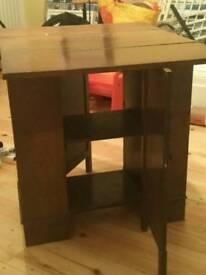 Encylopedia Bookcase/table