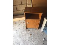60s bedside table retro