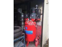 Airmec 3 phase air compressor