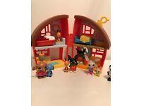 Bing Bunny House, Ice cream van and figures