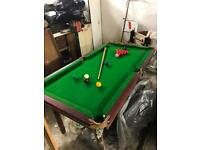 Children's Slate bed Snooker table