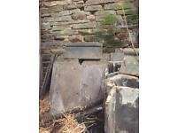 Ridge tiles and slates