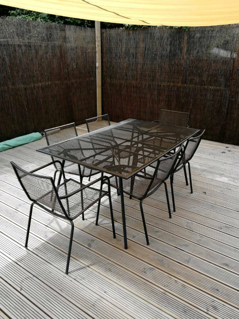 Adelaide table and 6 chairs
