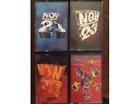 Now cassette tape bundle retro rare