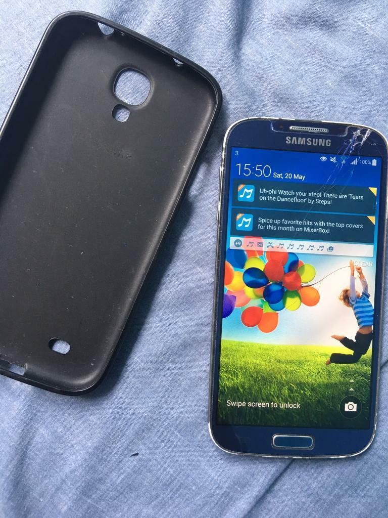 Samsung S4 Excellent Condition With Original Charger and Memory Cardin Chorlton, ManchesterGumtree - Samsung S4 Excellent Condition With Original Charger and Memory Card Its has screen protector so its not cracked no silly offer text or call