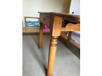 Solid Oak Period Kitchen table